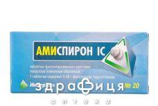 Амиспирон IC таб пролонг п/о 80мг №20