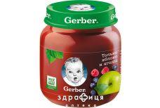 Gerber пюре яблуко з лiсовими ягодами з 5 мiс 130г 1227216