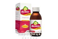 МАЛIПIН СИРОП 97МГ/5МЛ 125Г відхаркувальні засоби, сиропи, таблетки