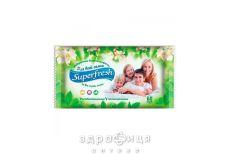 Салфетки влаж superfresh д/всей семьи №60