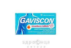 Гавискон клубничные таб жев №16 таблетки от изжоги
