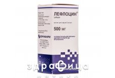 ЛЕФЛОЦИН Р-Р Д/ИНФ 5МГ/МЛ 100МЛ /N/ антибиотики