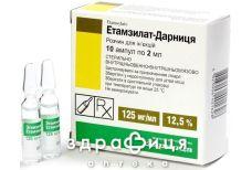 Этамзилат-Дарница д/ин 12.5% 2мл №10