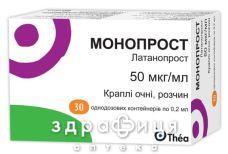 Монопрост крап оч 50мкг/мл 0,2мл №30
