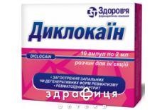 Диклокаин р-р д/ин 2мл №10