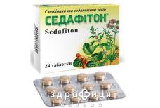 Седафитон таб №24 снотворное