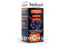 Самбукол иммуно форте с вит c+цинк 120мл