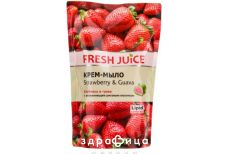 Ельфа Fresh juice мило рiдке клубнiка/гуава дой пак 460мл