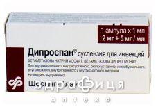 Дипроспан сусп. д/iн. амп. 1 мл №1
