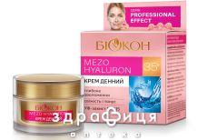 Биокон pe mezo hyaluron 35+ крем днев 50мл 149004 антивозрастной крем от морщин
