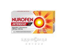 НУРОФЄН ІНТЕНСІВ ТАБ В/О №6 жарознижуючі препарати