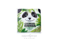 Папір туалетний сніжна панда бамбук 2-х шаров 4р