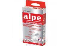 Пластырь Alpe (Алпе) телесн а/бакт с серебр классик 76х19 №20