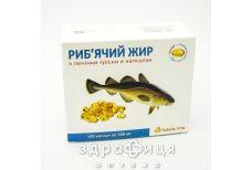 Табула віта риб'ячий жир з печ тріски капс 500мг №100