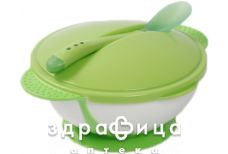 Lindo (Линдо) a50 premium тарелка с присоской крышка/ложка