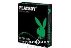 Презервативы Pley boy ultra thin №3
