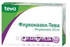Флуконазол-Тева капс 50мг №10 - противогрибковые