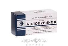 Аллопуринол таб 100мг №50