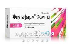 Флутафарм фемина таб 0.125г №50