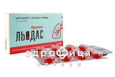 Льодас льодяники бронхо №24 відхаркувальні засоби, сиропи, таблетки