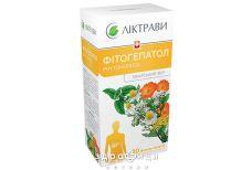 Фiтогепатол збiр 1,5г фiльтр-пакети №20 гепатопротектори для печінки