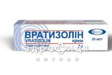 Вратизолин крем 30мг/г туба 3г