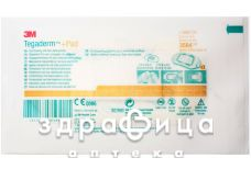 Пластир хiрургiчний tegaderm+pad 6 см х 10 см №1