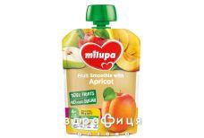 Дитяче харчування Milupa пюре фрукт яблоко/груша/банан/абрикос з 6міс 100г