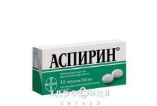 Аспирин таб 500мг №10
