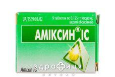 Амиксин IC таб п/о 0,125 №9