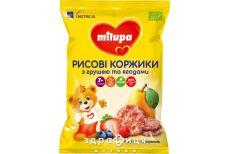 Milupa (Мілупа) рисовые коржики груша/ягоды с 7мес 40г
