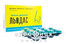 Льодас льодяники вільне диханя №24 відхаркувальні засоби, сиропи, таблетки