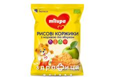 Milupa (Мілупа) рисові коржики морква/яблуко з 7міс 40г