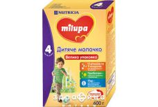 Milupa-4 сумiш молочна з 18 мiс 600г