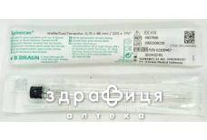 Игла спинальная bd тип квинке g-22 (0.7х90мм)