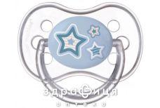 Canpol (Канпол) пустышка силикон круглая 18+мес newborn baby 22/564