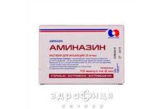 Аминазин р-р д/ин 2,5% 2мл №10