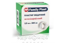 Пластир family plast мед на полiмер основi 2,5х500см