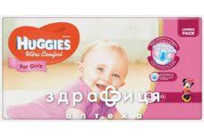 Подгузники Huggies (Хаггис) ultra comfort д/дев р4 №50