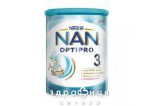 Nestle NAN 3 premium сумiш молочна з 10 мiс 400г 1000018