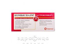 Комбiспазм гастрокомфорт таб №20 спазмолітики, пропульсанти