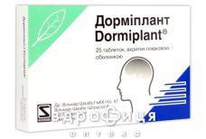 Дормиплант таб п/о №25