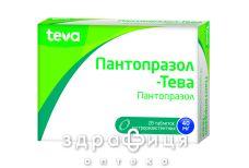 Пантопразол-тева таб 40мг №28 таблетки від гастриту