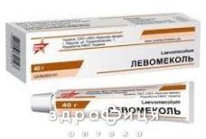 Левосин мазь туба 40 г для загоєння ран