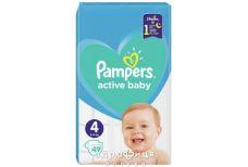 Подгузники Pampers (Памперс) active baby maxi 9-14кг №49