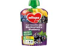 Milupa пюре фруктове яблуко/банан/чорна смородина/чорника з 6мiс 80г