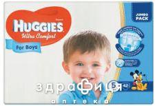 Подгузники Huggies (Хаггис) ultra comfort д/мал р5 №42
