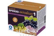 Фiточай бронхо-фiтовiол №1 1.5г ф/п №20