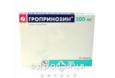 Гропринозин таб 500мг №20 Иммуностимуляторы