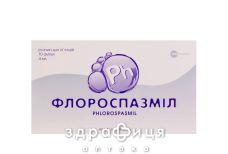 Флороспазмил р-р д/ин 40мг/0,04мг/4мл 4мл №10 таблетки от гастрита